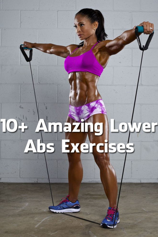 10+ Amazing Lower Abs Exercises To Flatten Your Belly And Get You That V-Cut (Video)
