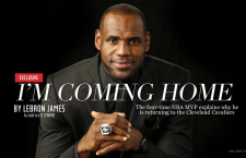 LeBron: I'm Coming Back To Cleveland