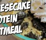 Oreo Cheesecake Protein Oatmeal Recipe (Video)