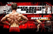 BACK BUSTER! Hardcore BACK Muscle Gain Routine! (Video)