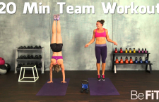 Extreme Fat Blast Endurance Challenge: 20 Min Team Workout (Video)