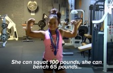 A 4th Grade Girl Is Already A Record-Breaking Powerlifter (Video)