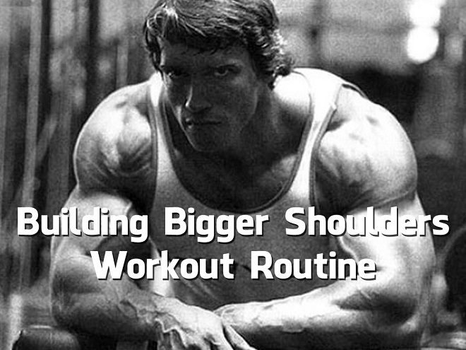 Building Bigger Shoulders Workout Routine (Video)