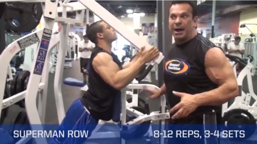 Superman Rows