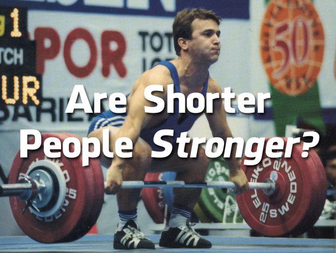 are shorter people stronger