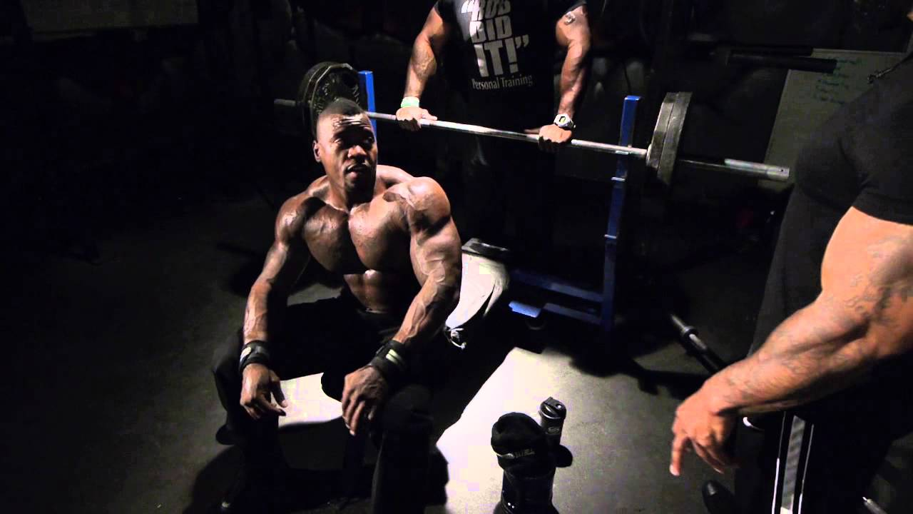 225lbs For 210 Reps: Mike Rashid Featuring CT Fletcher (Video)