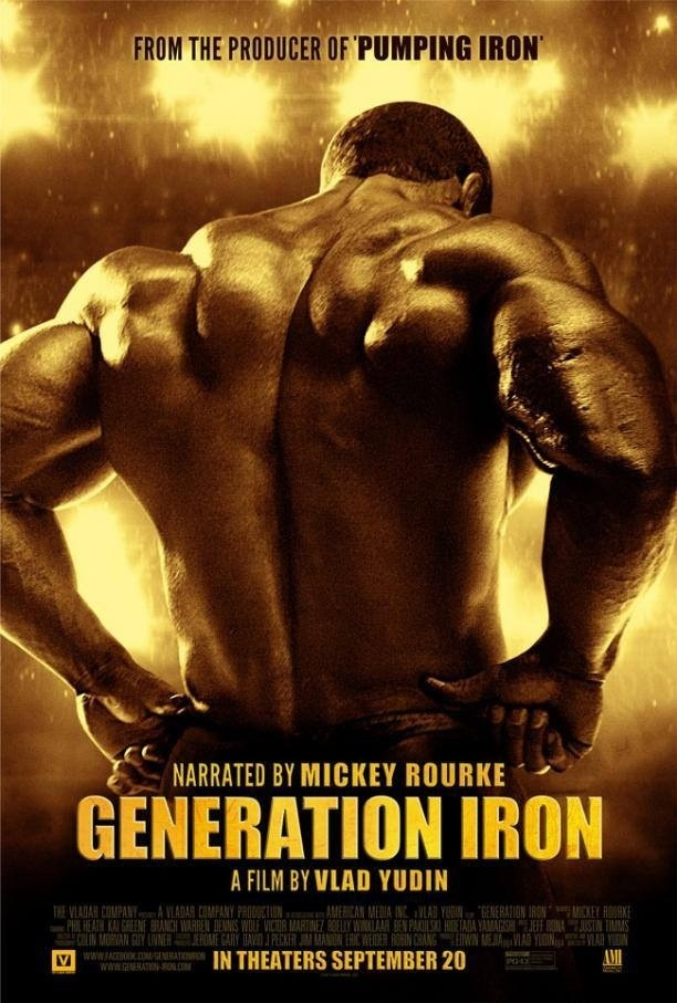 The Poster For Generation Iron Movie