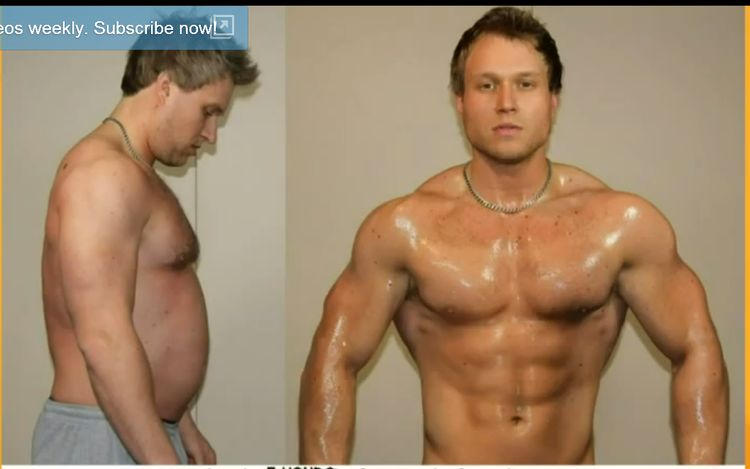 How Supplement Ads Create Their Before and After Transformation Photos