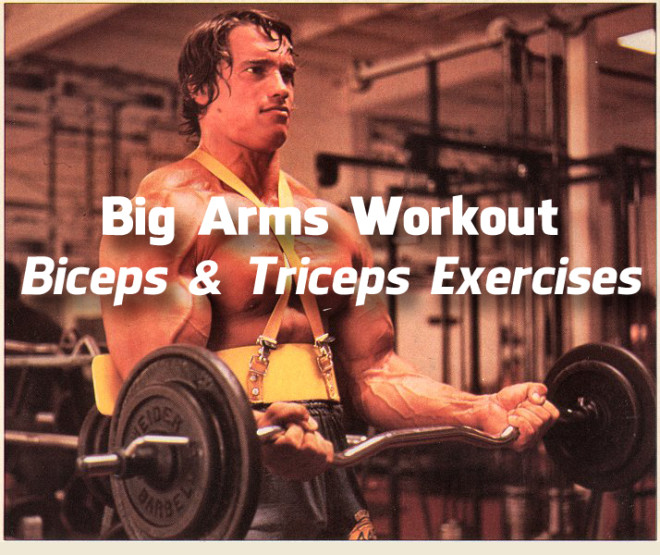 Big Arms Workout Biceps Triceps Exercises 2