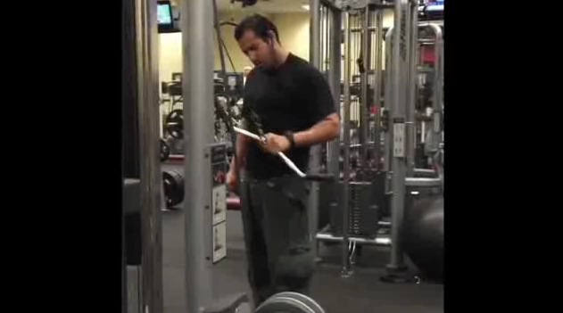 Guy Invents Creative Gym Workouts (Video)