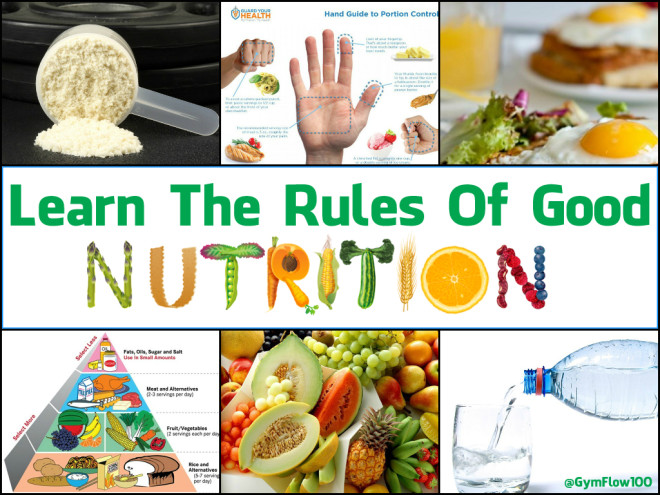 Learn The Rules Of Good Nutrition