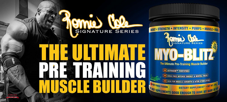 Ronnie Coleman's Signature Series Myo-Blitz Product Review