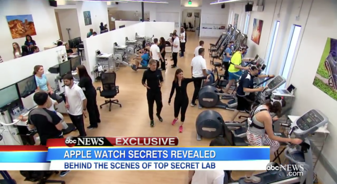 Go Inside Apple's Secret Apple Watch Fitness Testing Lab ...