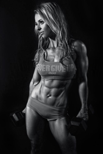chicks with abs