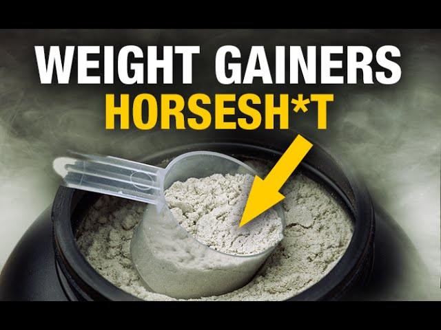 Why Mass Gainer Supplements Suck At Building Muscle (Video)