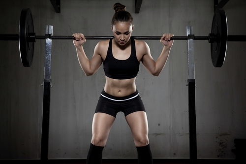 Squats = One of the must-do training compound exercises.